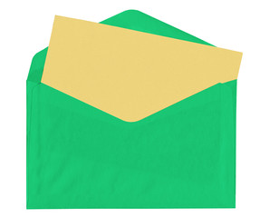 Colorful letter