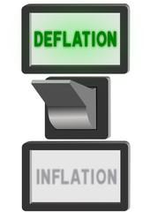 Deflation-Inflation