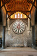 King Arthur's round table on temple wall in Winchester England U - 75761464