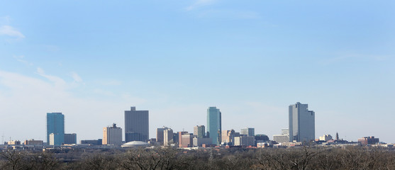 Downtown Skyline Fort Worth Texas