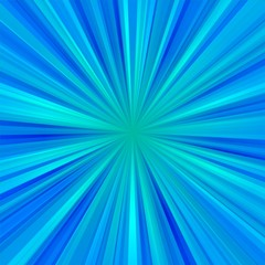 Abstract light blue centralized background of regular rays