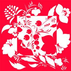 abstarct russian ornament. vector illustration