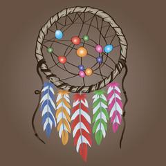 Ethnic amulet Dreamcatcher