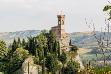 Brisighella medieval clock tower