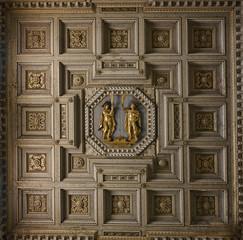 Santi Giovanni e Paolo ceiling in Rome