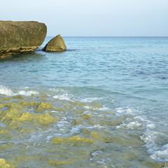 Ocean front cliff