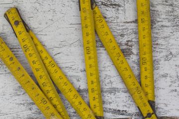 Measuring wood meter