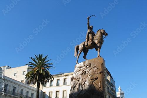 Tuinposter Algerije Place de l'Emir Abdelkader, Alger