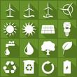 Iconset *** Renewable Energy - green