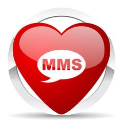 mms valentine icon message sign