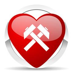 mining valentine icon