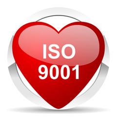 iso 9001 valentine icon