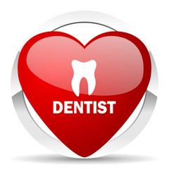 dentist valentine icon