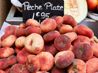 Flat peaches for sale