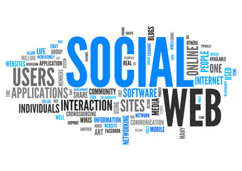 Word Cloud Social Web
