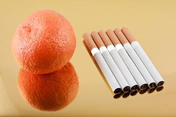 tangerine or six cigarettes