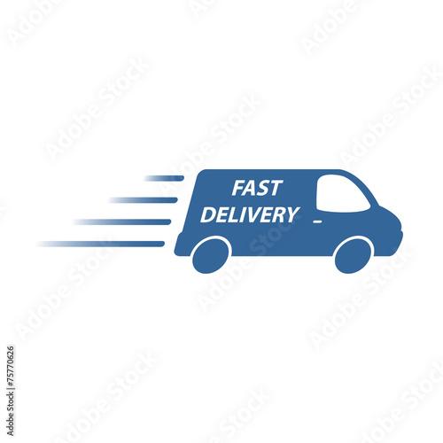delivery van - 75770626