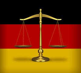 Waage deutsches Recht