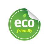 Eco Round Sticker