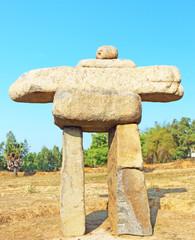 rock formations auroville tamil nadu india
