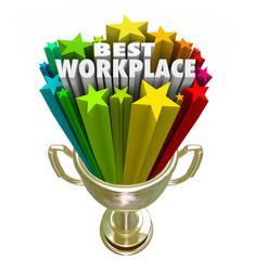 Best Workplace Employer Business Company Job Career Trophy