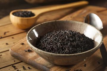 Dry Black Loose Leaf Tea