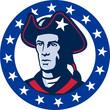 American Patriot Minuteman Stars Retro