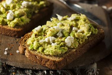 Healthy Homemade Avocado Toast