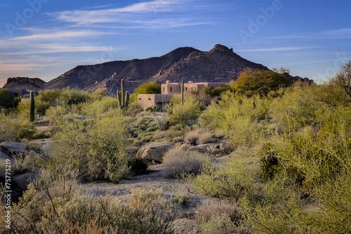 Zdjęcia na płótnie, fototapety, obrazy : Adobe style home southwest USA