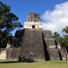 Temple number two in Tikal