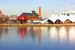 The Seven Foot Knoll Lighthouse in Baltimore Inner Harbor. - 75776085
