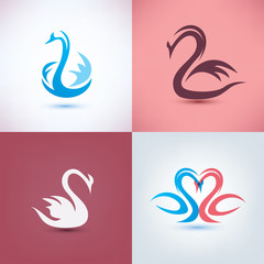 swan symbol collection