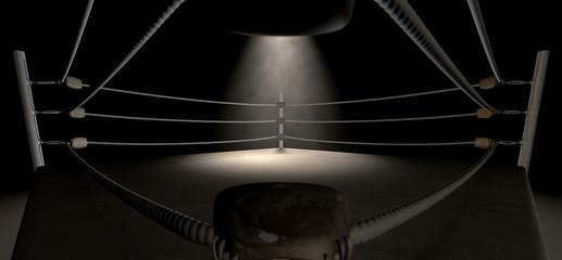 Classic Vintage Boxing Ring Corner