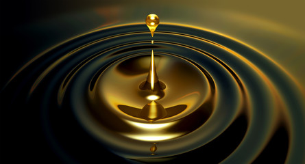Oil Droplet
