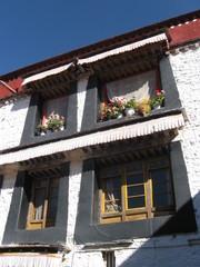 Windows in Tibet