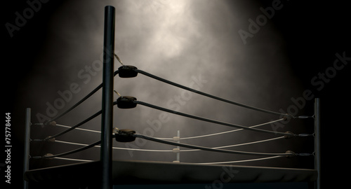 Poster Persoonlijk Classic Vintage Boxing Ring
