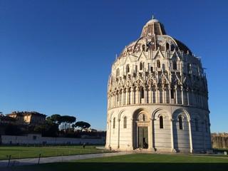 Baptistery in Pisa, Italy