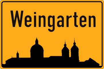 Weingarten - mit Basika-Silhouette