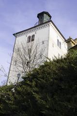 famous zagreb tower - lotrscak