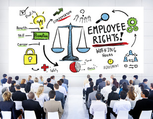 Employee Rights Employment Equality Job Business Seminar Concept