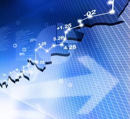 Stock Market Chart, graph