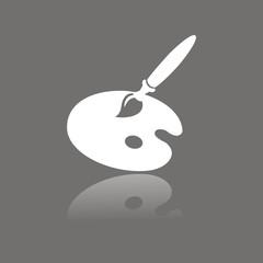 Icono útiles artista FO reflejo