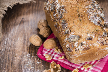 Walnut Bread (fresh baked)