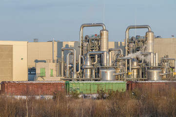 Woodworking Kronospan plant in city Yegoryevsk