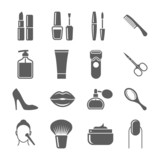 Beauty and makeup icons - 75780859