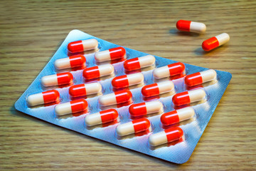 Drugs: tablets and capsules.