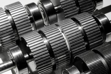 Electric stepper motor shafts