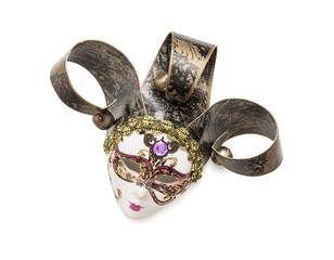 Beautiful masquerade carnival mask
