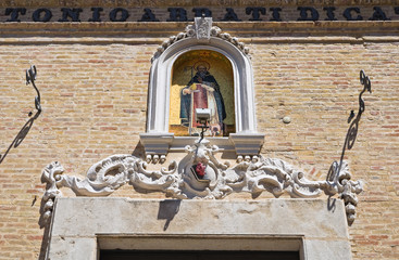 Church of St. Antonio. San Severo. Puglia. Italy.