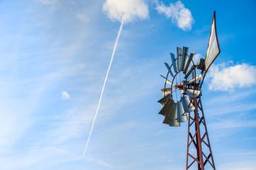 Ranch windmill